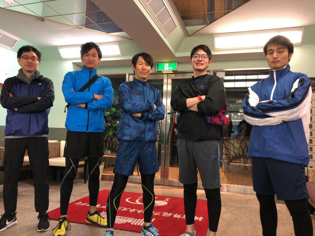 リレーマラソン(2018.03)の練習会。