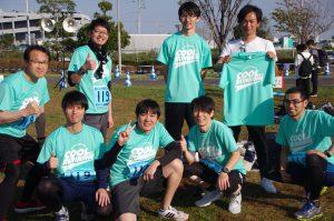 【活動報告】ゆりかもめリレーマラソンに出場!