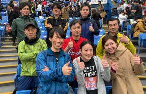 【活動報告】第2回神宮球場リレーマラソンに出場しました!
