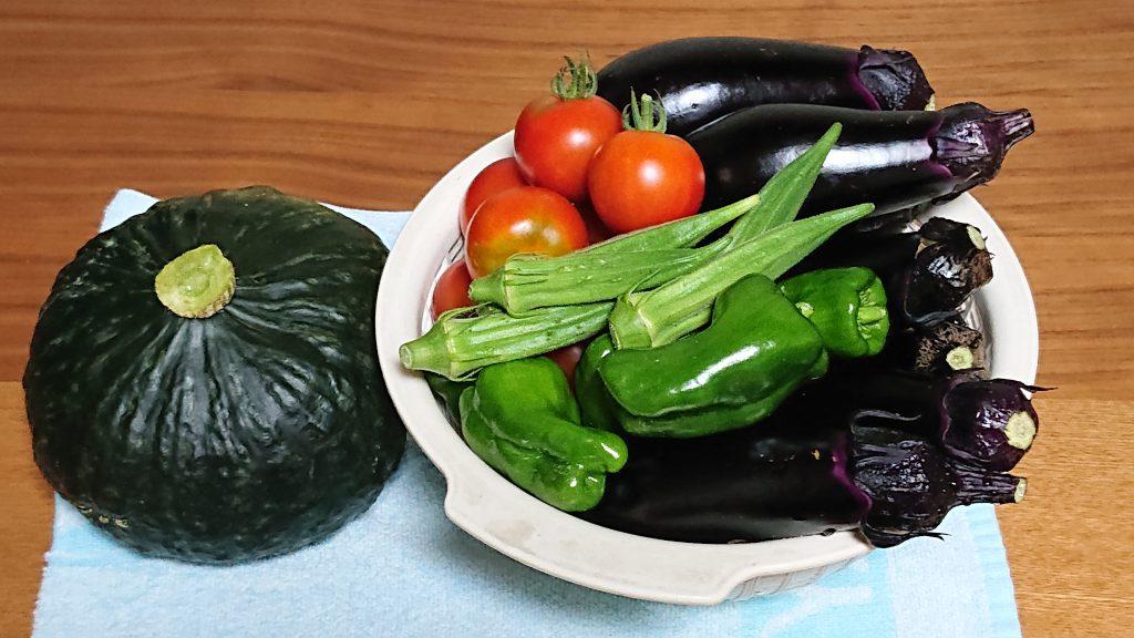 夏野菜のお話。